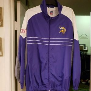 Minnesota Vikings Fullzip Windbreaker